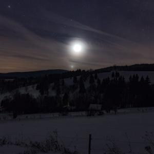 Mars, Księżyc i Wenus