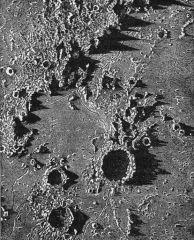 Mapa Księżyca z XIX wieku