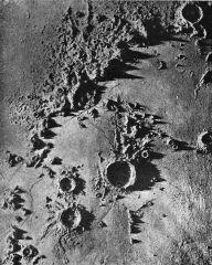 Morze Deszczów na Księżycu, wg ilustracji z X