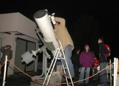 Teleskop TN 350 - pokaz nieba