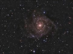 7. MarcinPc - IC342, galaktyka w Zyrafie