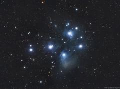 1. MarcinPc.  M45 - Gromada Subaru na niebie
