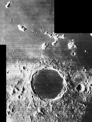 Krater Platon i góra Pico