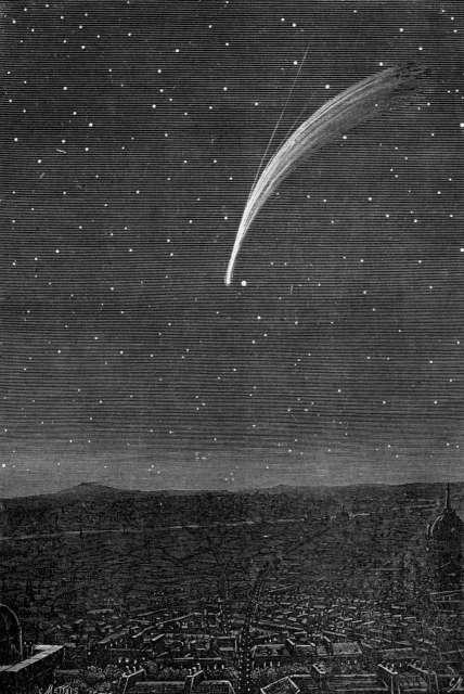 Kometa Donatiego w 1858 roku