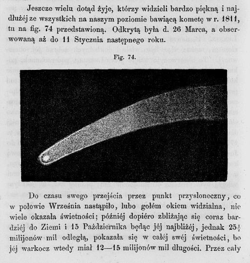 "Kometa ""Napoleońska"" w książce"
