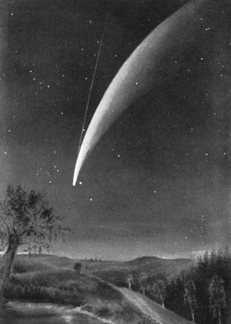 Kometa Donatiego w 1858 r