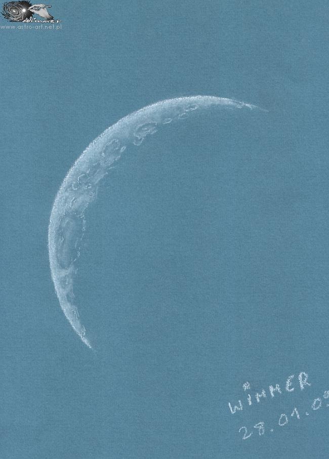 Cienki Bolek z Wrocka, czyli młody Księżyc
