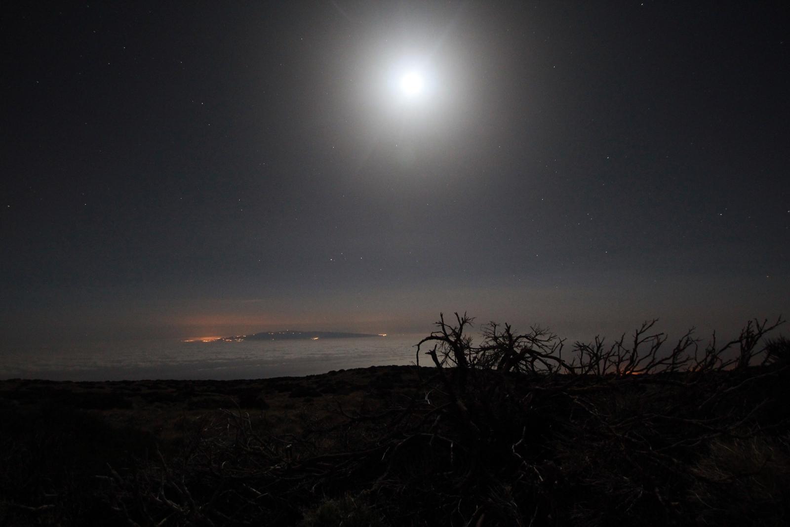 Księżyc nad Gran Canarią