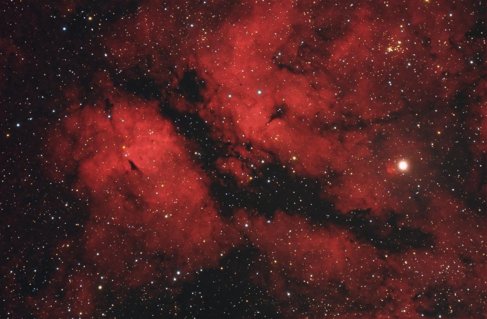 Mgławica Motyl   IC1318