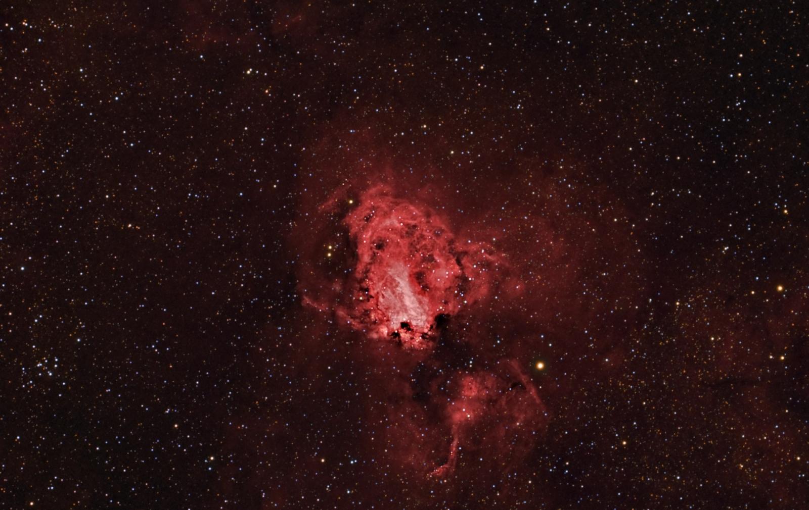 Mgławica Omega   M17