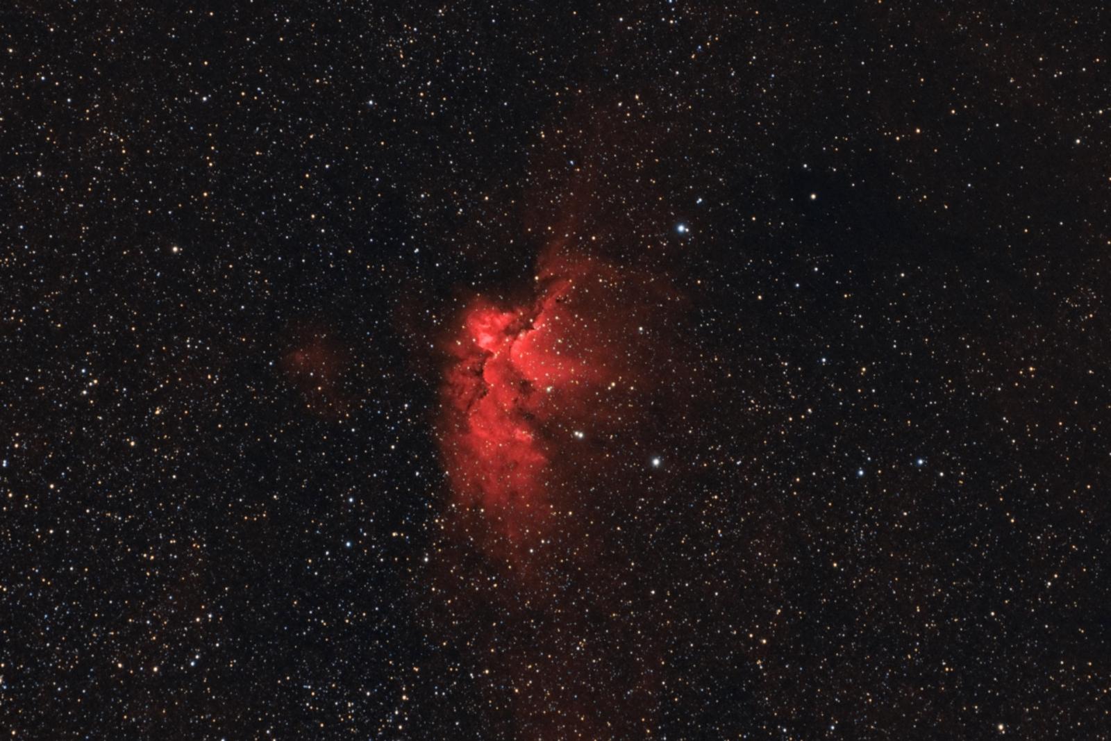 Mgławica Czarodziej   NGC7380
