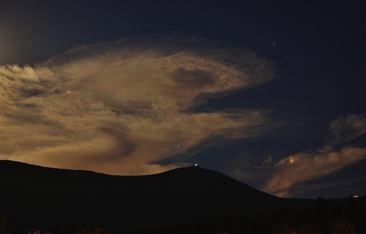 Mars, Saturn, Śnieżka