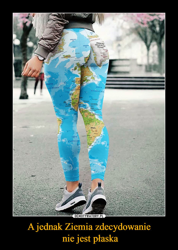 A jednak Ziemia zdecydowanie nie jest pÅaska â