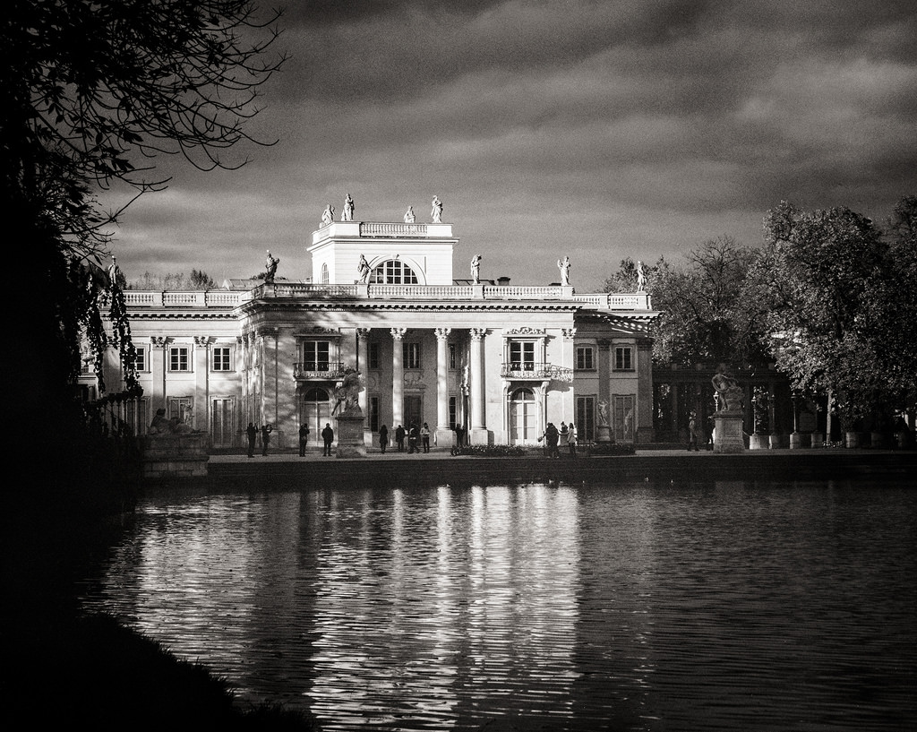 """Palace on the water"""