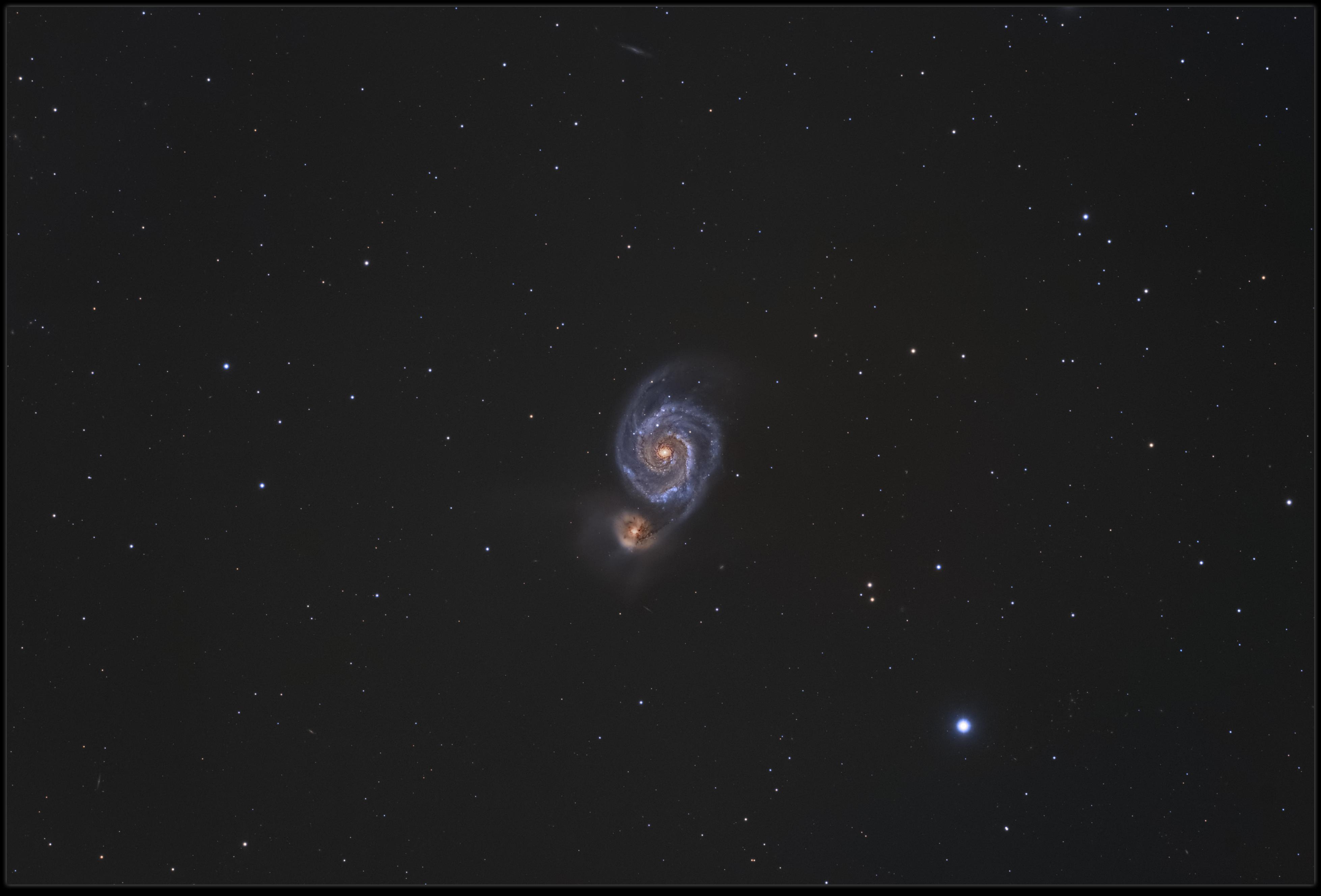 [1.6.2017] Trochę późno ale jest M51
