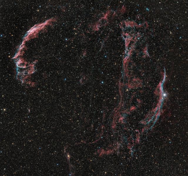 Cygnus Loop HaOIIILRGB