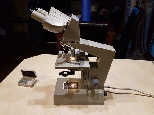 S mikroskop carl zeiss jena laboval akcesoria archiwum