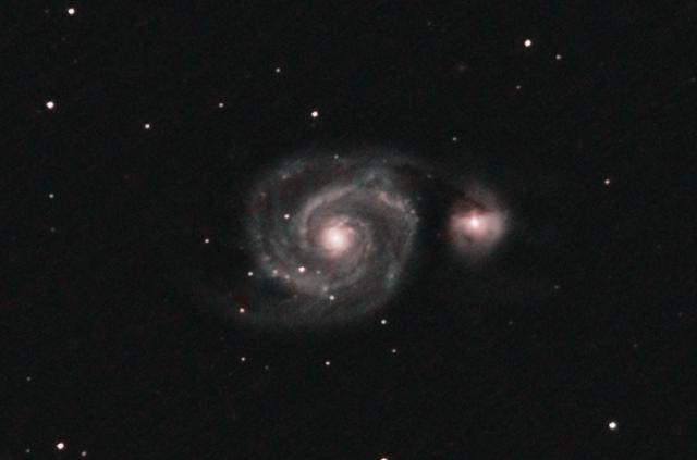 M51 Galaktyka Wir