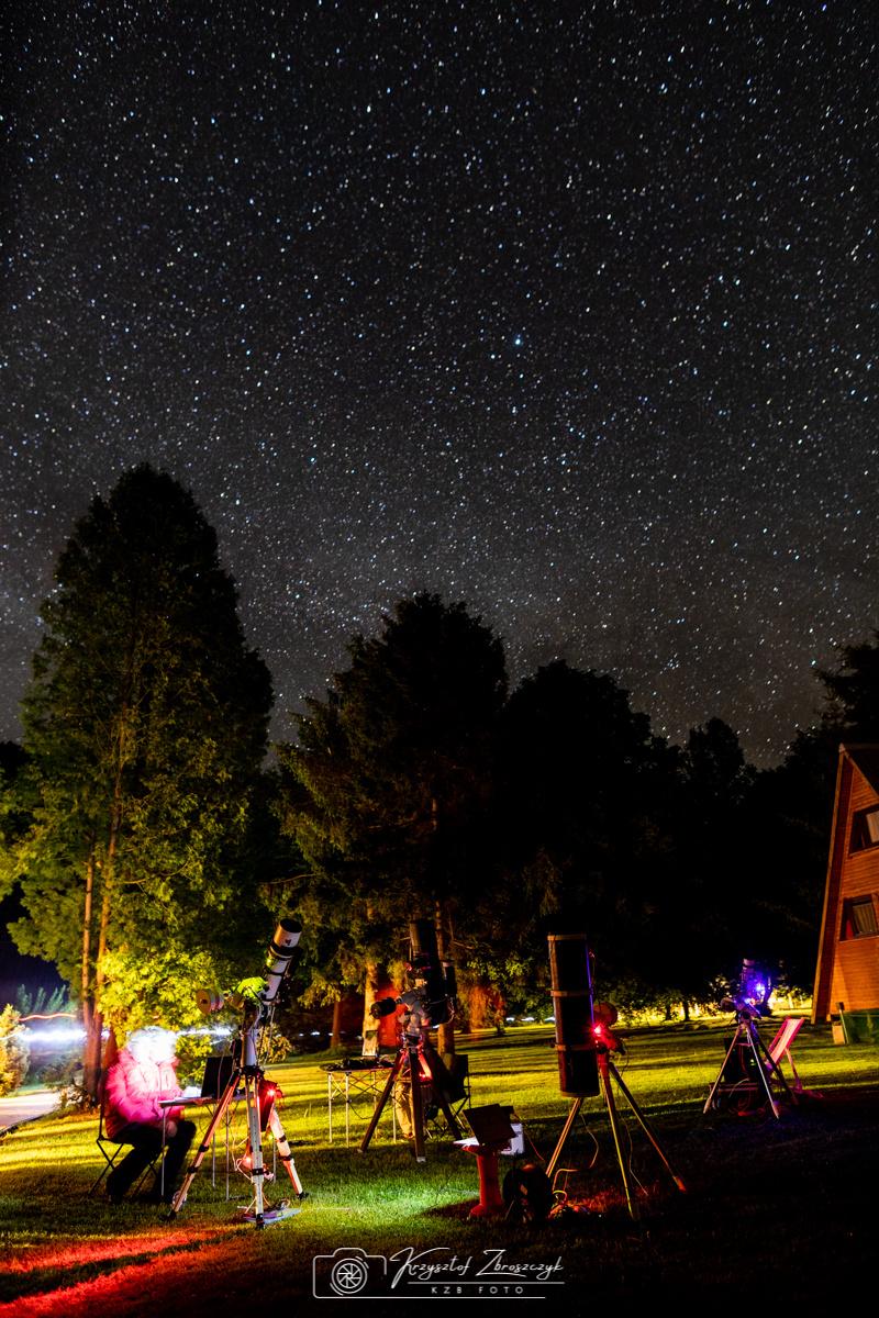 15 Bieszczadzki Zlot Miłośników Astronomii Bukowiec 2018 r - 39..jpg