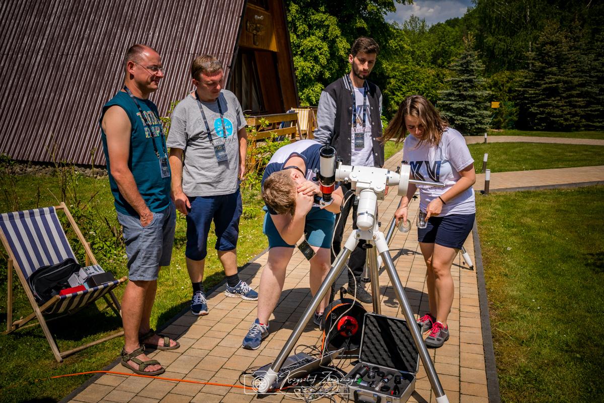 15 Bieszczadzki Zlot Miłośników Astronomii Bukowiec 2018 r - 25..jpg