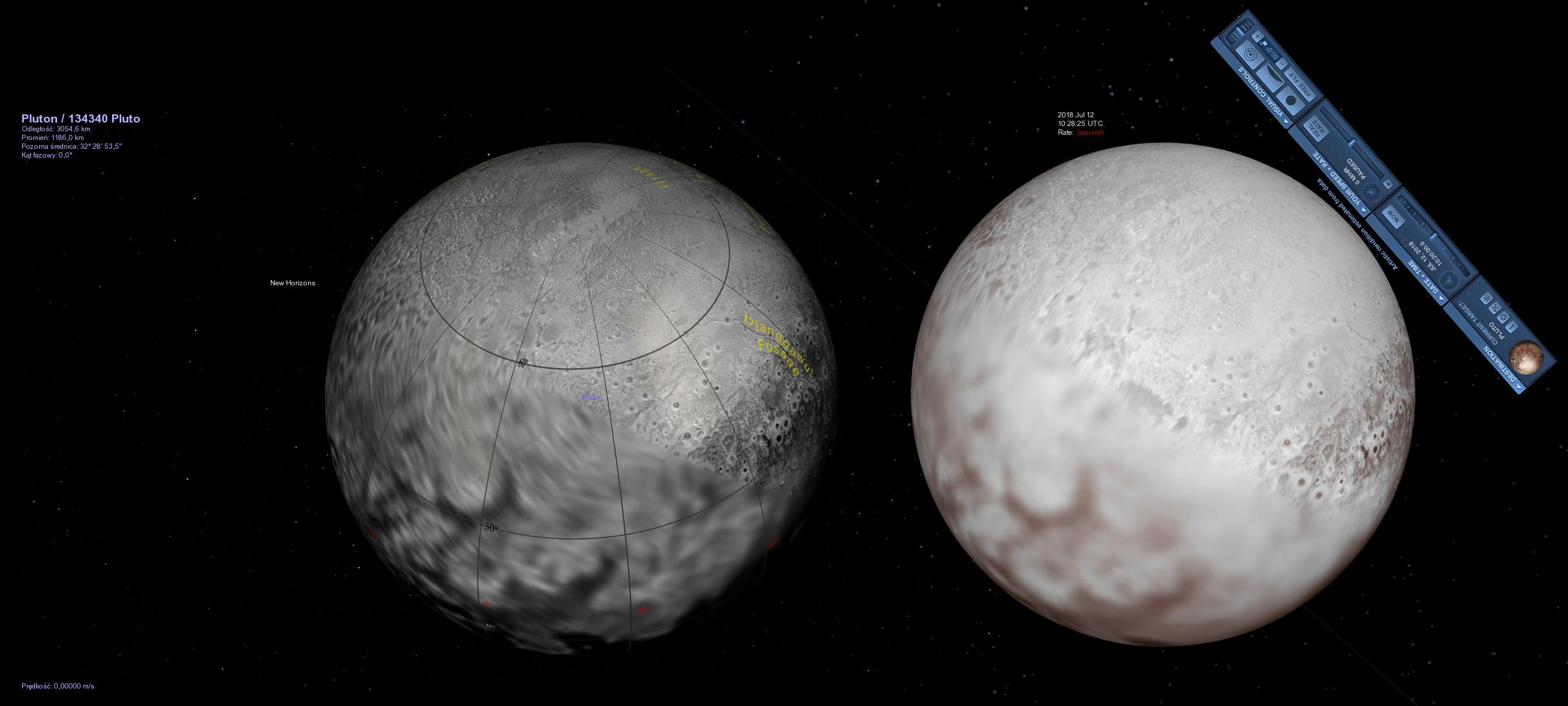 Unikalna opozycja Plutona (2018)