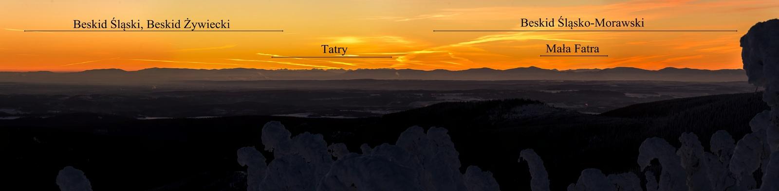 Panorama na wschód z Małego Dziada na 150 mm - 19.01.2019.jpg