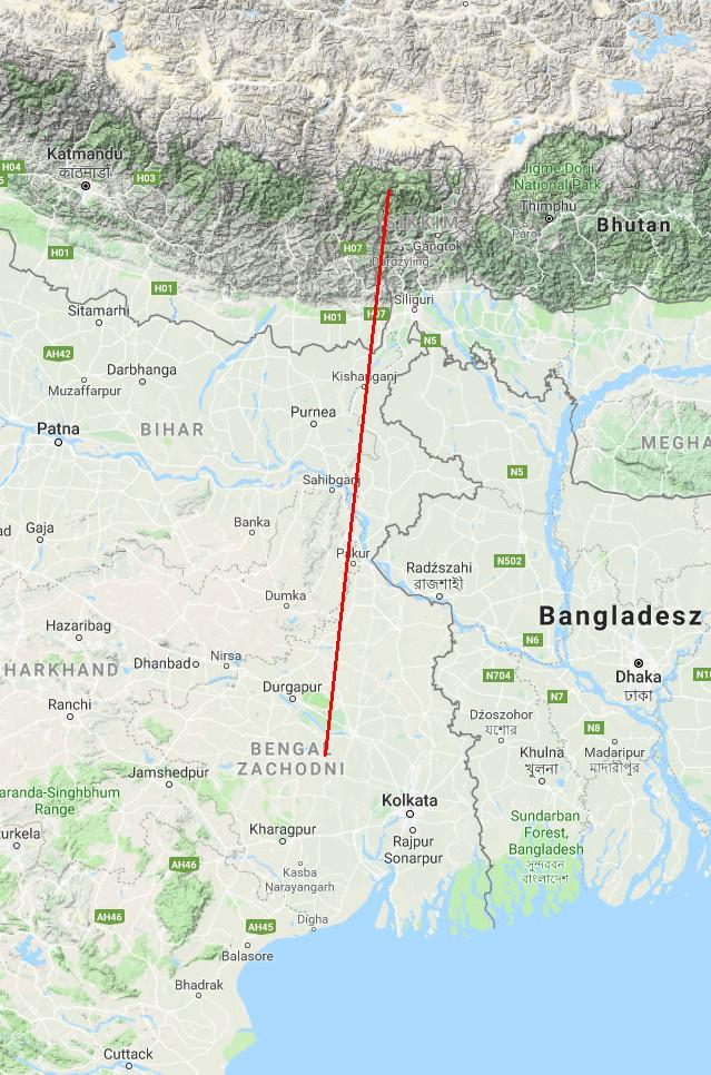 Kangchenjunga520km mapy google.jpg