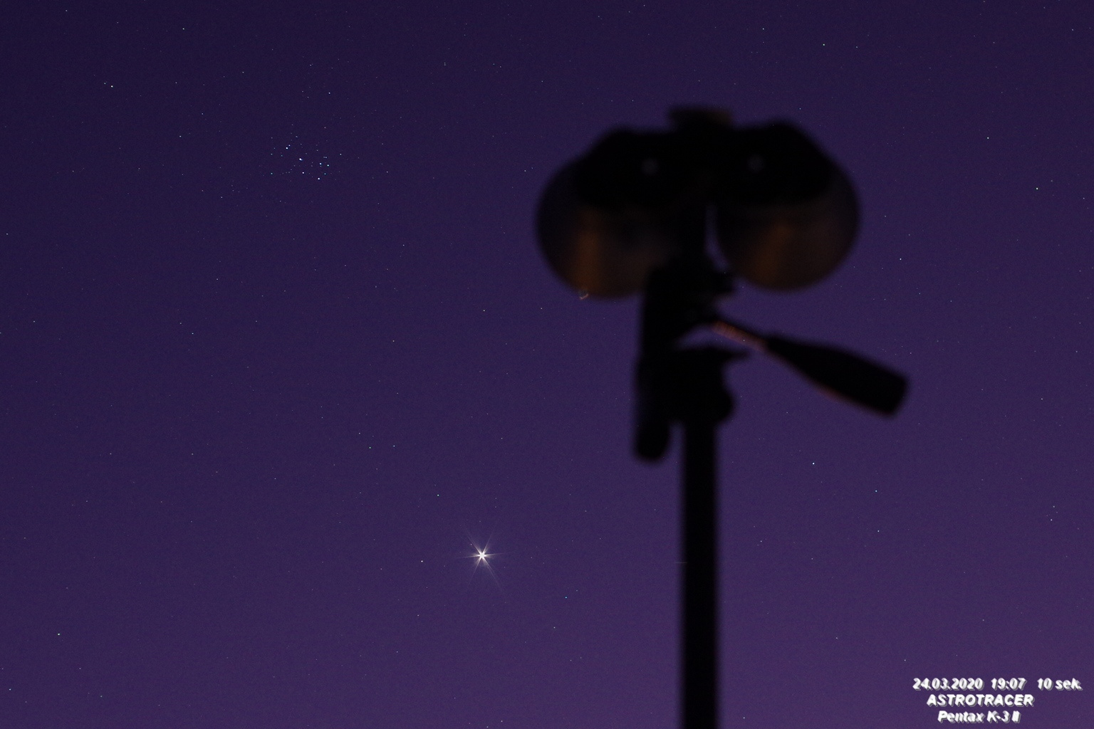 Wenus i Plejady 24.03.jpg