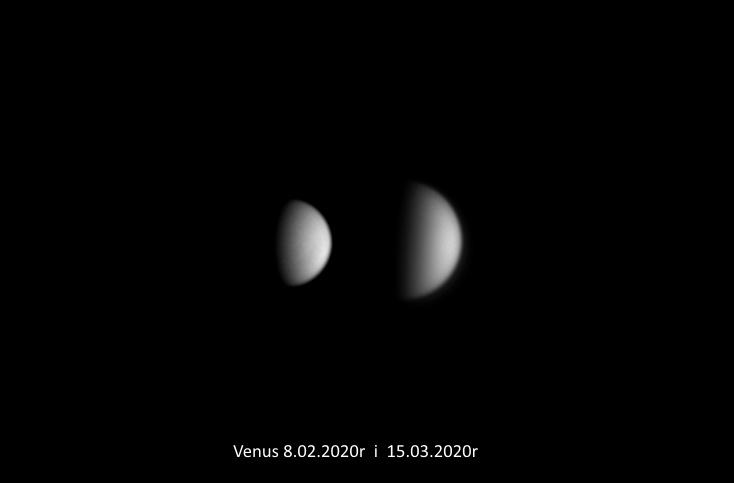 Malejąca faza Venus 8.02.2020r i 15.03.2020r_TS152F2270_ASI290MM_Drizzle150.....jpg