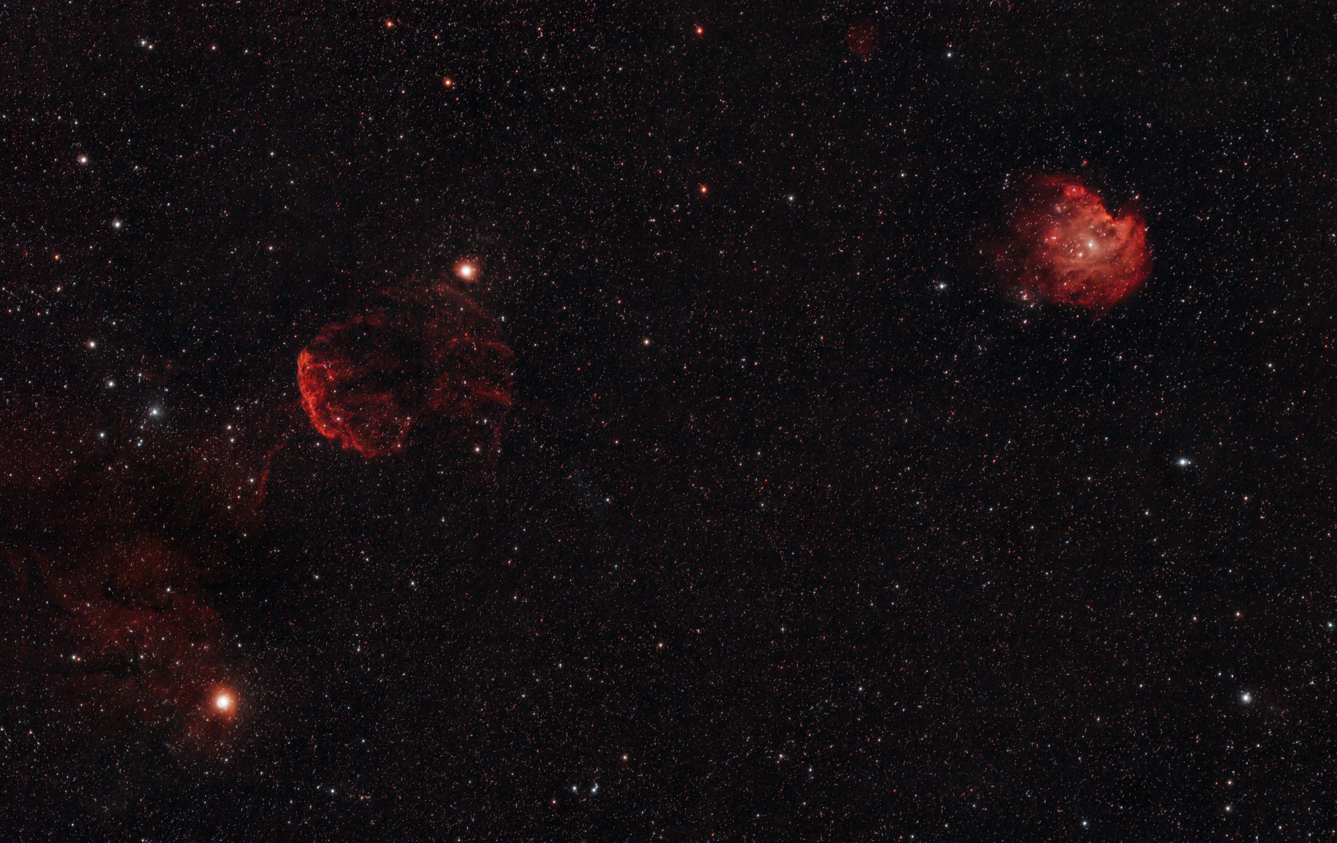NGC 2174,IC443