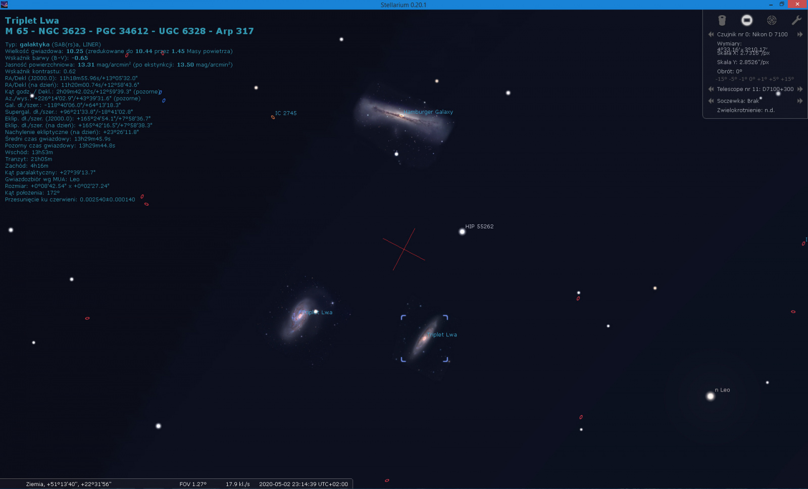 Triplet Lwa ze Stellarium.jpg