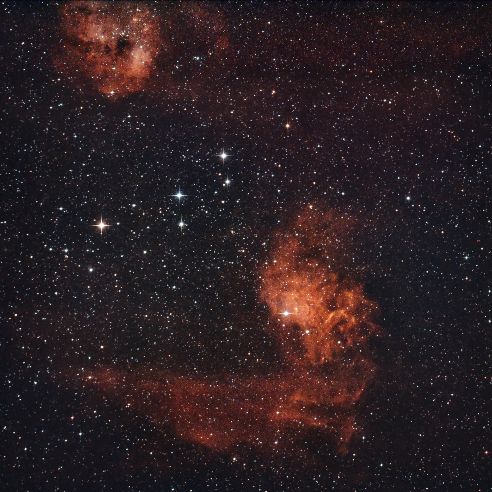 IC 405 (also known as the Flaming Star Nebula)
