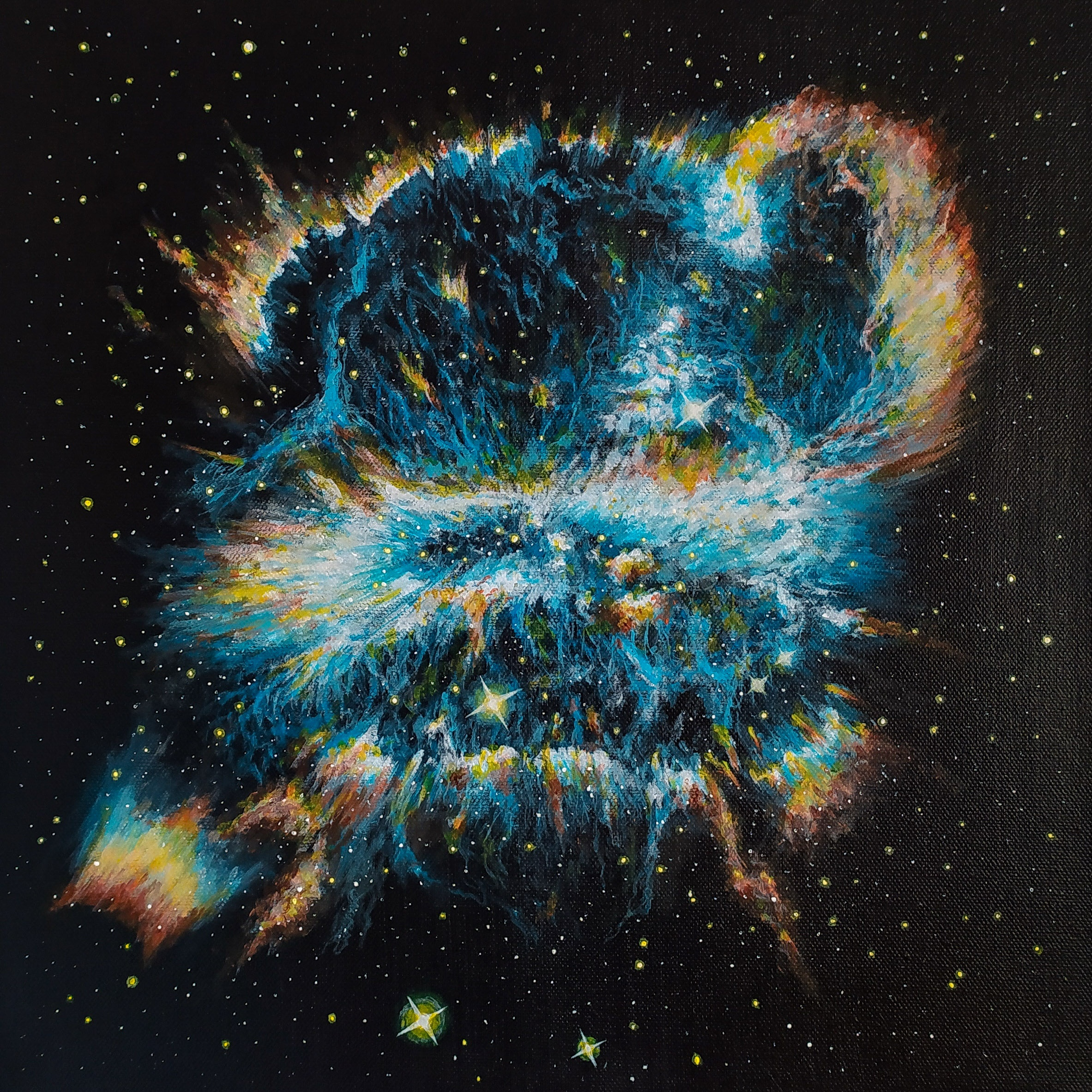 NGC 5189 30x30 cm
