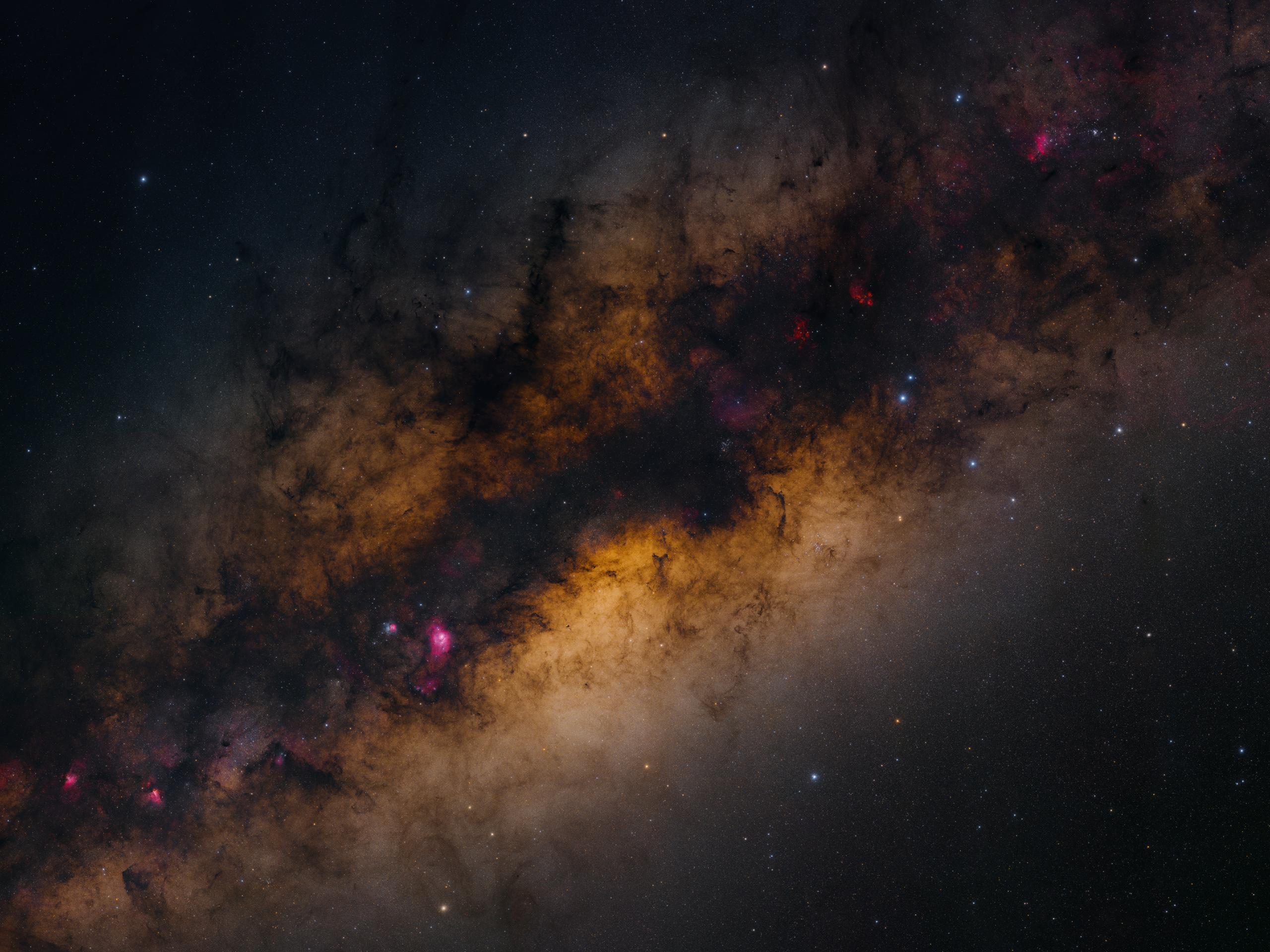 Droga Mleczna w dwóch gigapikselach
