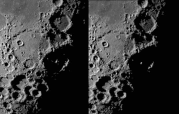 Stożek światła w kraterze Walther 29.05.2016r_3.00_4.00_widok....jpg
