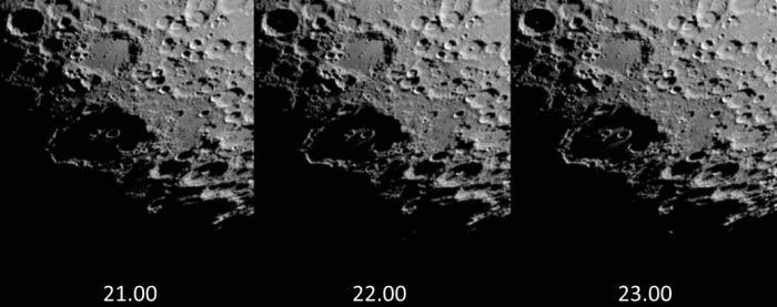Świt w kraterze Clavius 13.06.2016r_21.00_23.00_widok....jpg